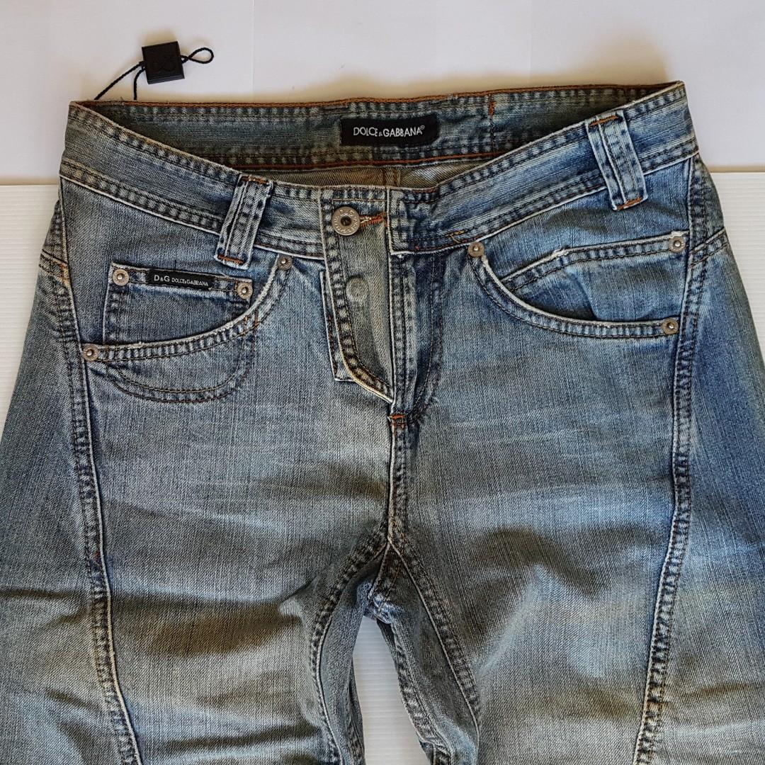 30785ad082c Rare Classic D&G Jeans, Vintage Dolce & Gabbana Designer Denim Jeans ...