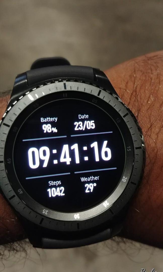 Samsung Gear 3 Frontier LTE