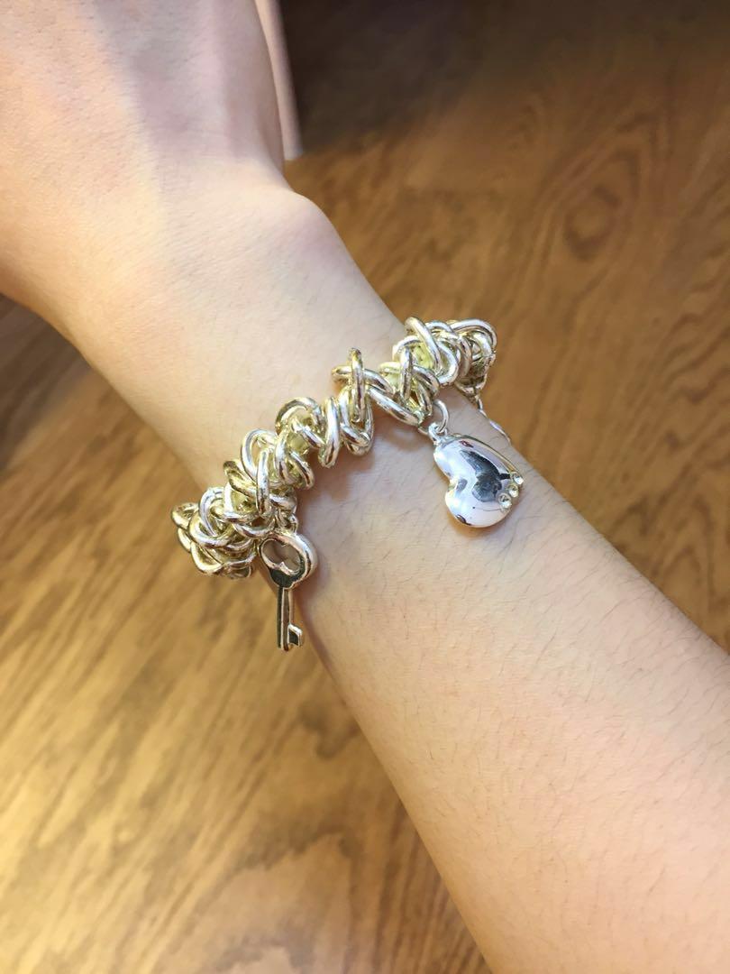 Silver Charms Bracelet 銀色手鏈 禮物