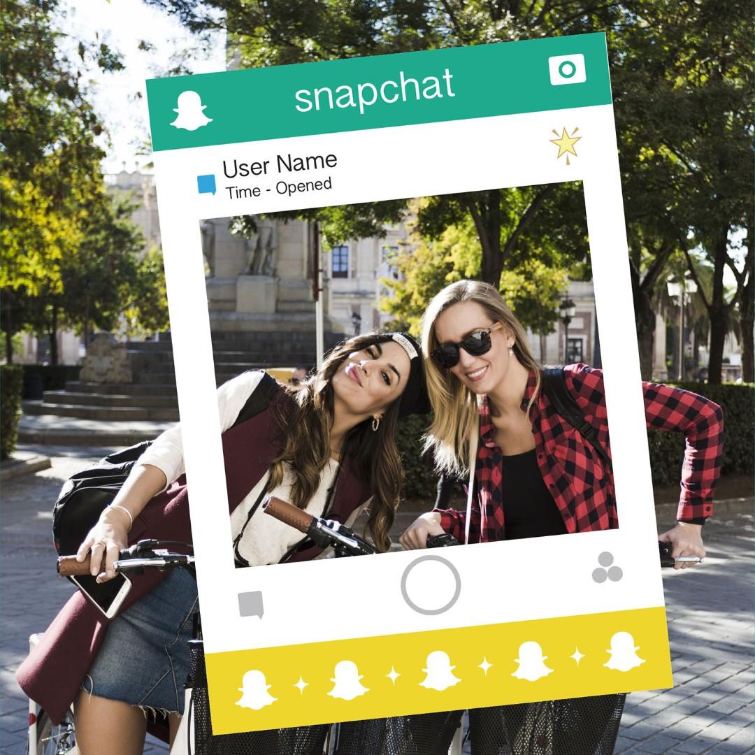 Social Media Photo Frame Props