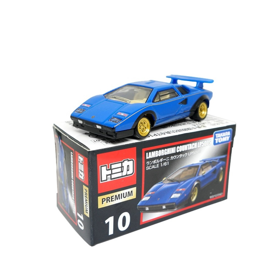 Tomica Premium 10 Lamborghini Countach Lp500s Box Toys Games