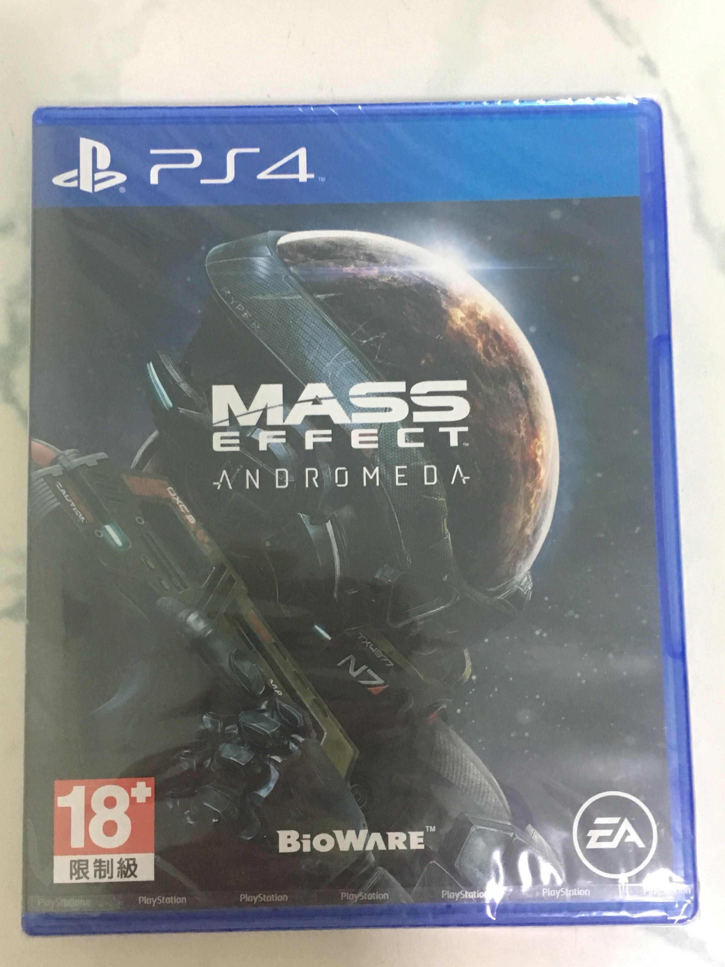 Used Ps4 Game Mass Effect Andromeda Toys Games Video Gaming On Carousell