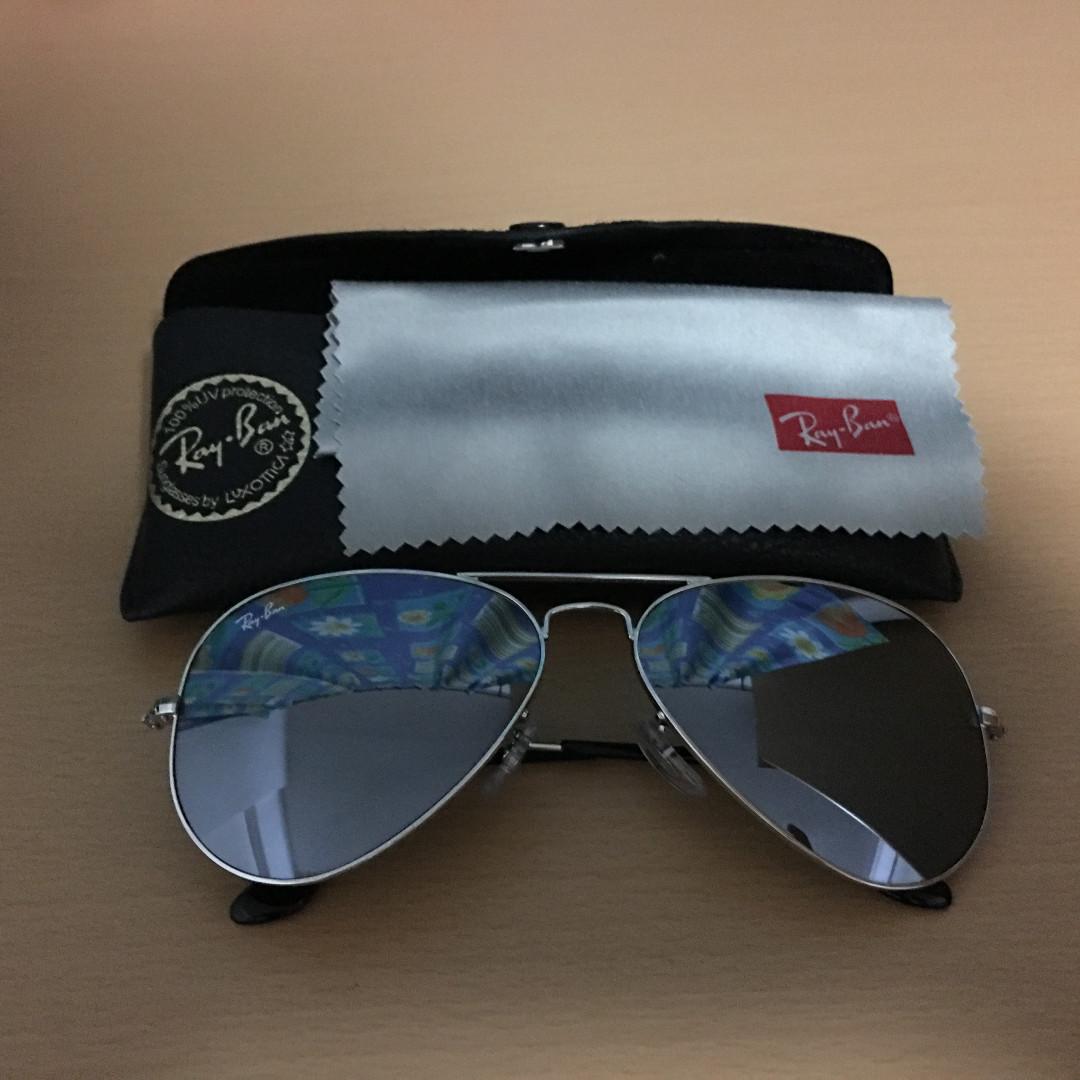 f56e7e1d109c5 Used Ray-Ban Aviator Mirror Sunglasses