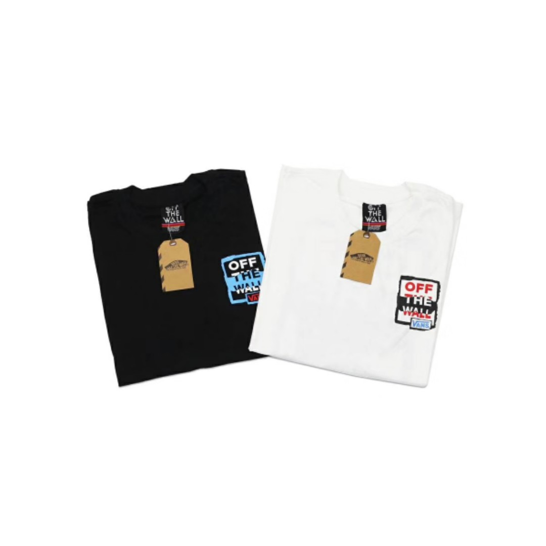 c74fbe95fe Vans Off The Walls Graphic Back T Shirt