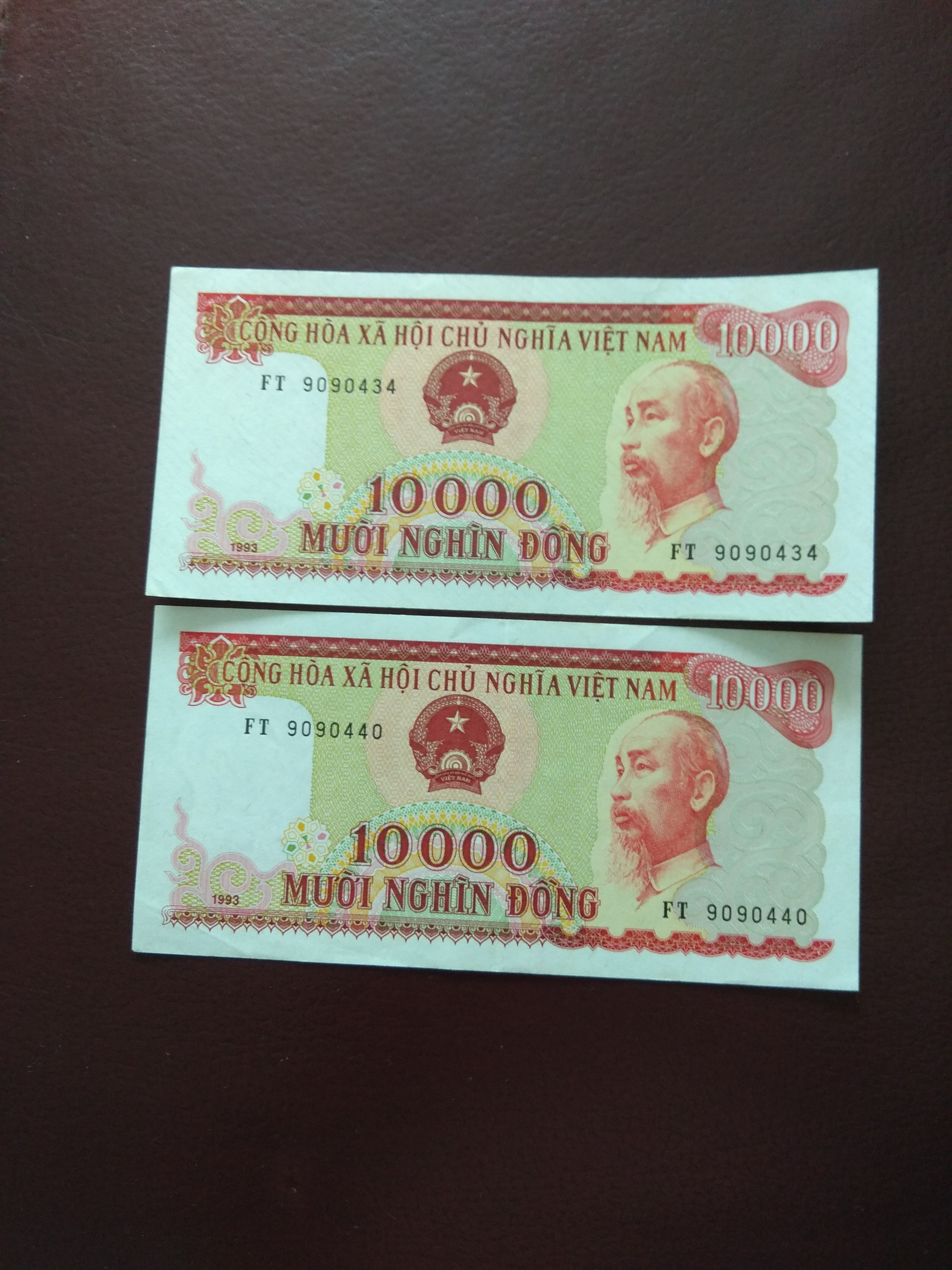 Vietnam Notes Year 1993, Vintage & Collectibles, Currency on Carousell