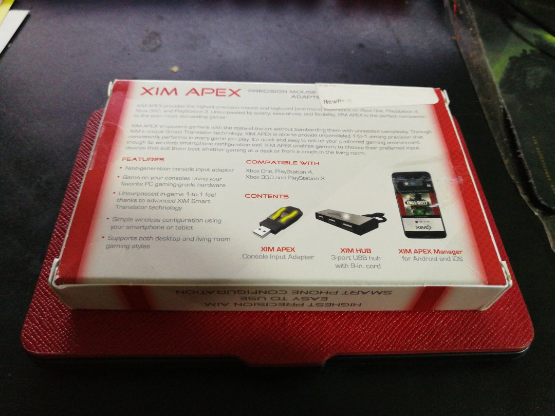 WTS XIM APEX Mouse & Keyboard Adaptor, Toys & Games, Video