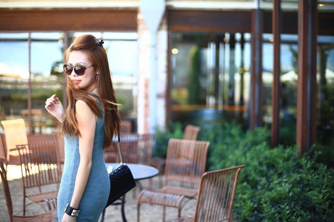 Zara 2-pc Top + Knit Dress