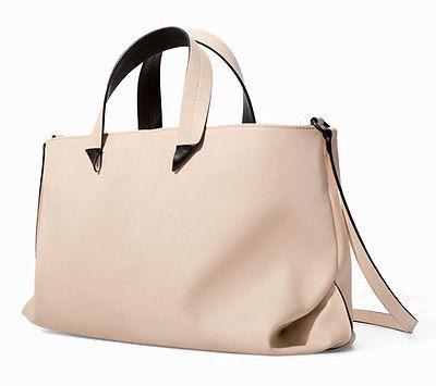 Zara Cream Handbag