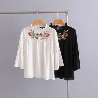 Doris Dainty Floral Top