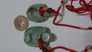 玉烏龜二隻