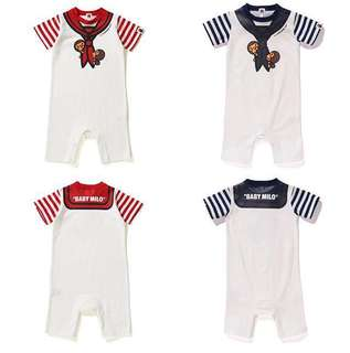 BAPE BABY MILO FAKE SAILOR ROMPER