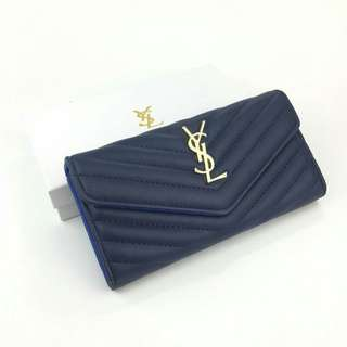 YSL Purse Dark Blue Color