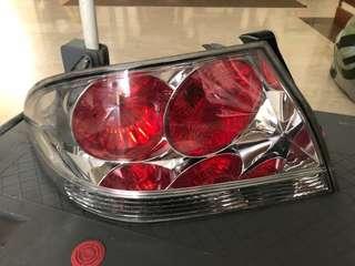 Tail lights for lancer GLX / CS3