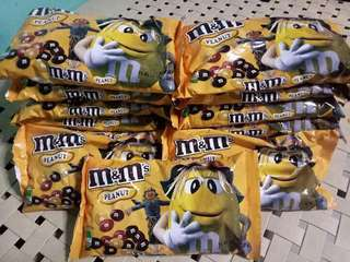 SALE  M&M PEANUT MEDIUM BAG @ 250.00