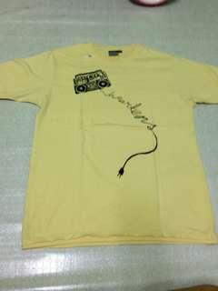 Dr. Marten's yellow shirt