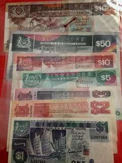 Singapore ship series banknote