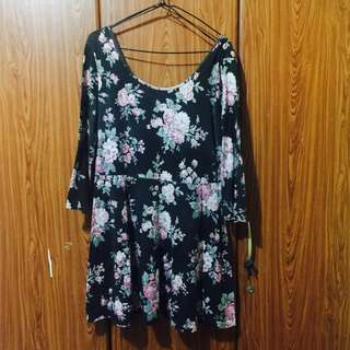 Floral Dress (Slightly Faded)