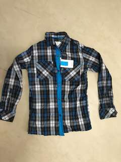 Brand new with tag - Seed Boys Long Sleeve Checked Shirt -size 11
