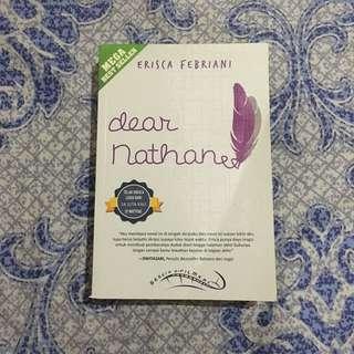 Novel Dear Nathan by Erisca Febriani // Jefri Nichol , Amanda Rawles