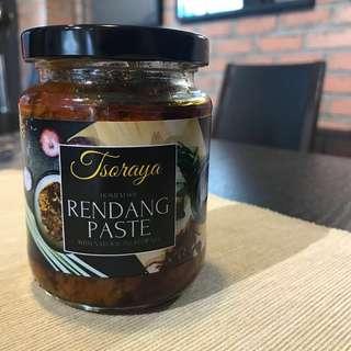 Tsoraya Recipes Homemade Rendang Paste