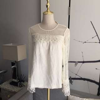 new with tags Ramy Brook Lace Blouse