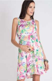 Jumpeatcry Sunny Back Tie Nursing Dress