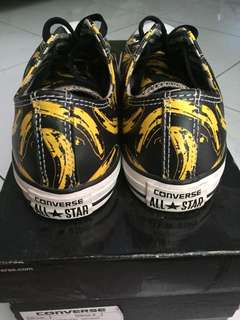 converse CT banana pop art andy warholl leather