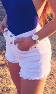 short pants white