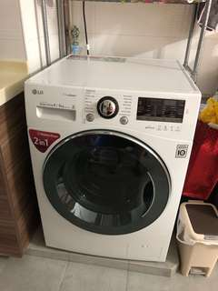 LG washer dryer washing machine