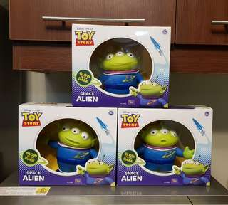 Movoe-Size Toy Story Green Space Aliens by Thinkway