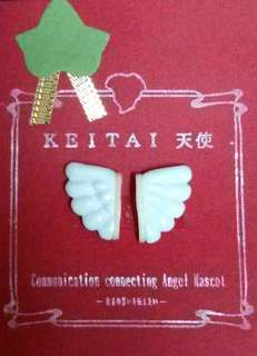 DIY 素材 天使之翼 手機裝飾