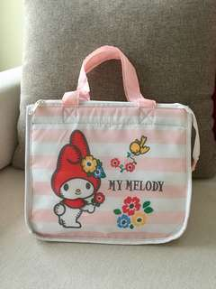 My Melody Thermal Insulated Cooler Lunch Bag
