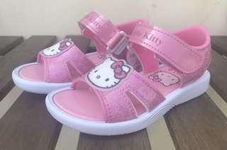 🚚 三麗鷗 Hello kitty大icon 女童涼鞋 814631