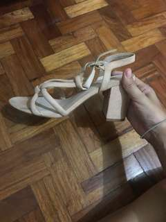 H&M Nude Shoes