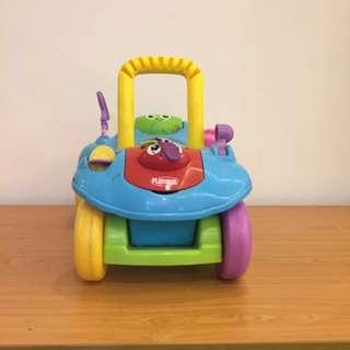 Playskool Toy Car Walker USA Convertible blue neutral