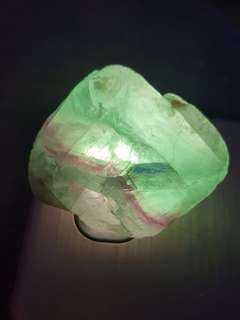 Raw Flourite Crystal 天然萤石
