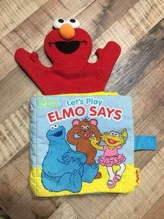 Elmo Baby Cloth Book - Elmo Says