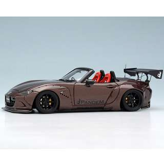 全新Make Up 1:43 Pandem Roadster (ND) Metallic Brown RB004B5