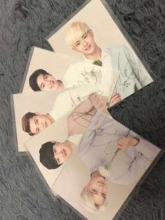 POST CARD EXO