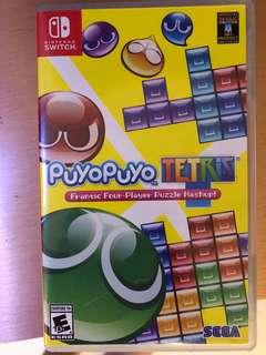 Nintendo switch - puyo puyo Tetris