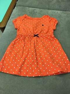 女童短袖洋裝