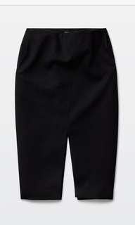Aritzia Black Babaton Jax Skirt