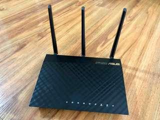 ASUS RT-AC66U 802.11ac 雙頻無線 AC1750 Gigabit 路由器 Dual Band 3x3 Wireless Router 2.4Hz & 5Hz