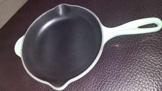Le creuset 20cm cool mint pan 無盒