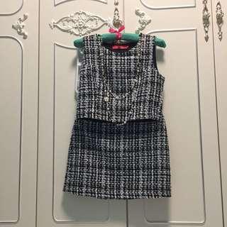 Chanel Design Tweed Dress