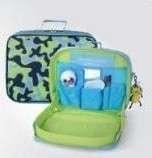 🚚 (迷彩藍)兒童托盤背包
