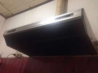 Penyaring udara/penyedot panas kompor