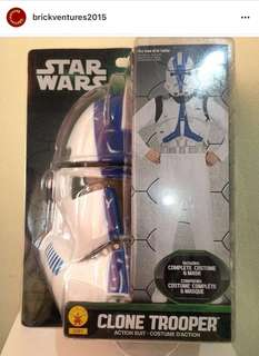 CLONE TROOPER Action Suit/ Costume