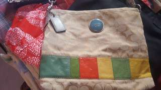 💯✔authentic preloved coach sling
