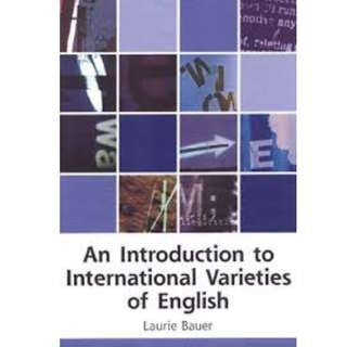 An Introduction to International Varieties of English($20)
